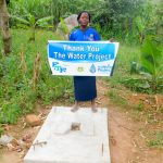 The Water Project: Bukhanga Community -  Evelyne Nyangai By Her New Sanplat