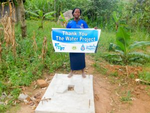 The Water Project:  Evelyne Nyangai By Her New Sanplat