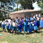 The Water Project: Sabane Primary School -  Finished Tank