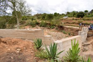 The Water Project:  Sand Dam Front