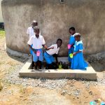 The Water Project: Sabane Primary School -  Flowing Water