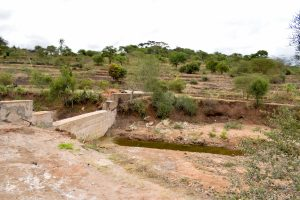 The Water Project:  Sand Dam Back