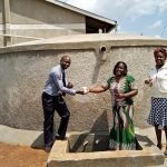 The Water Project: Sipande Secondary School -  Finished Rainwater Tank