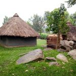 The Water Project: Bukhakunga Community, Khayati Spring -  Mud And Grass Homes