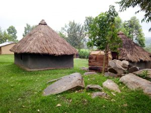 The Water Project:  Mud And Grass Homes