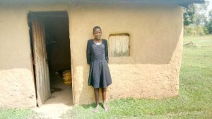 The Water Project:  A Girl At Her Home