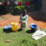 The Water Project: Emulakha Community, Nalianya Spring -  Washing