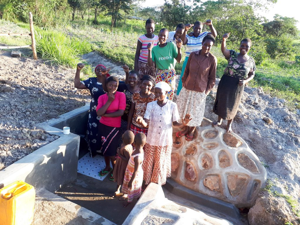 The Water Project : 31-kenya18126-flowing-water