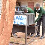 The Water Project: Ngaa Secondary School -  New Handwashing Stations
