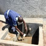 The Water Project: Mukunyuku RC Primary School -  Finished Tank