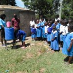 The Water Project: Sabane Primary School -  Handwashing Training
