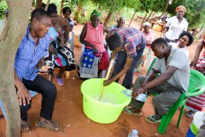 The Water Project:  Making Soap