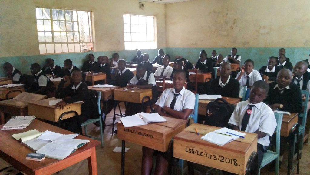 The Water Project : 4-kenya18316-students-in-class