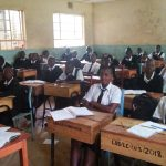 The Water Project: Lwanda Secondary School -  Students In Class