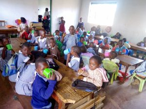 The Water Project:  Students In Class