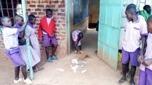 The Water Project:  Students Cleaning Their Classroom