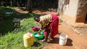 The Water Project:  Washing