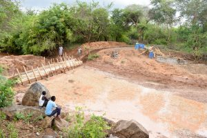 The Water Project:  Construction Site Flooding