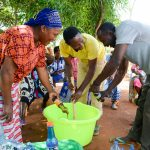 The Water Project: Syatu Community A -  Making Soap