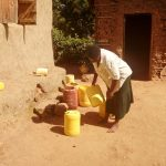 The Water Project: Mukoko Community, Mshimuli Spring -  Water Containers