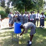 The Water Project: St. John Cheptech Secondary School -  Handwashing Training