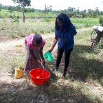 The Water Project: Luyeshe Community, Matolo Spring -  Handwashing Training