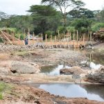 The Water Project: Kala Community -  Sand Dam Construction