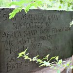 The Water Project: Masola Community A -  Well Plaque
