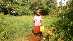 The Water Project:  Lucy At The Spring