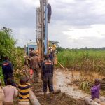 The Water Project: Nyakarongo Center Community -  Drilling