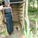 The Water Project: Lukova Community, Wasike Spring -  Typical Mud Latrine