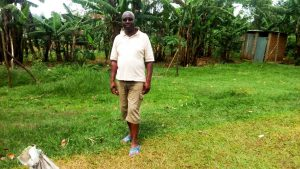 The Water Project:  Benard Munase