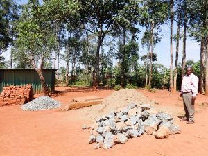 The Water Project:  Some Materials Delivered For Construction