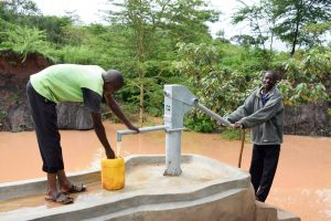 The Water Project:  Pump Working
