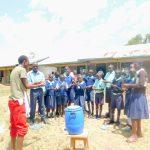 The Water Project: Mukunyuku RC Primary School -  Handwashing Training