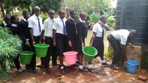 The Water Project:  Getting Water For Cleaning The Classroom