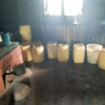 The Water Project: Imanga Secondary School -  Water Containers Stored In The Smokey Kitchen