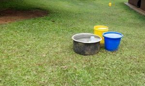 The Water Project:  Water Collecting And Storage Containers