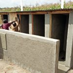 The Water Project: Sipande Secondary School -  Latrine Construction