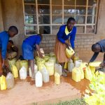 The Water Project: Shihalia Primary School -  Delivering Water For Construction