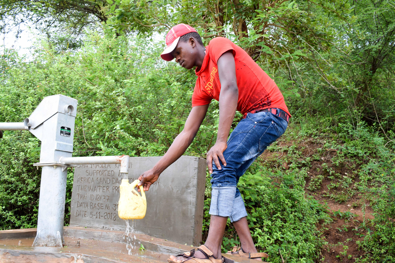 The Water Project: Kenya - Masola Community A
