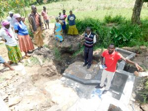 The Water Project:  Protus Training On Spring Care