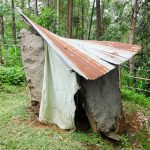 The Water Project: Ilala Community, Arnold Johnny Spring -  A Collapsing Latrine Still In Use
