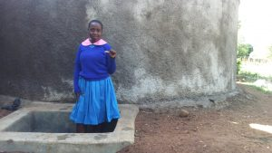 The Water Project:  Columba Murono At The Tank