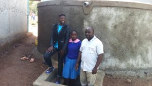 The Water Project:  Field Officer Jemmimah Khasoha Columba Murono And John Olwanda