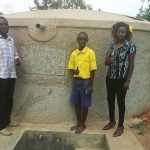 The Water Project: Emukhalari Primary School -  Isaac Makokha Frankline Omusonga And Field Officer Faith Muthama