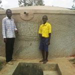 The Water Project: Emukhalari Primary School -  Thumbs Up For Reliable Water