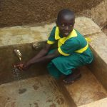 The Water Project: Buhunyilu Primary School -  Rebeccah Migare At The Tank