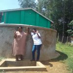 The Water Project: Malinya Girls Secondary School -  Rita Meli And Field Officer Jacklyne Chelagat
