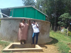 The Water Project:  Rita Meli And Field Officer Jacklyne Chelagat